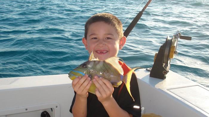 Fishing Charter in Playa del Carmen Trigger Fish