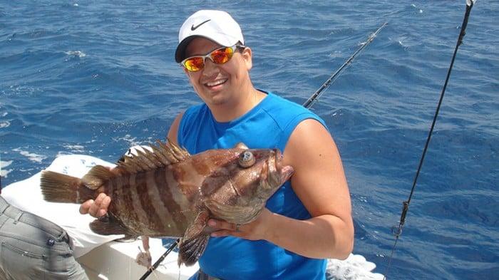 Fishing Charter in Playa del Carmen Grouper Fishing